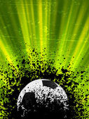 Grunge burst football poster. EPS 8 — Stock Vector