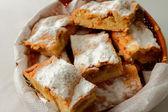 Savoureuse tarte aux pommes — Photo