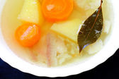 Appetizing fish soup — 图库照片