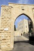 Gate to monastery — Stock fotografie