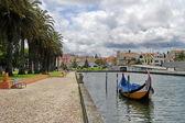 португалия красочные лодки — Стоковое фото
