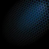 Hexagon Grid — Stock Vector