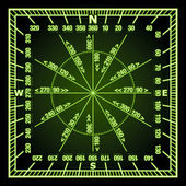 Navigation Grid — Stock Vector