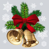 Xmas Bells — Vector de stock