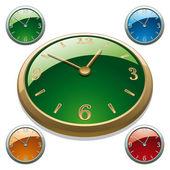 Relógio — Vetor de Stock