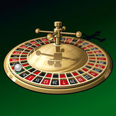 Roulette — Stock Vector