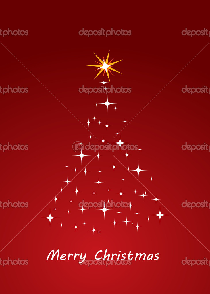 Christmas tree made of electronics elements vector illustration  Stock Vector #4221548