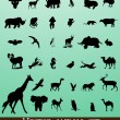 Vector Animals - Stock Vector