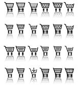 Shopping Cart Icon / Icons — Stock Vector