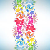 Abstract colorful star background. — 图库矢量图片