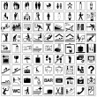 Royalty-Free Stock Vectorielle: Icons Set