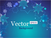Lens flare vector background — Stock vektor