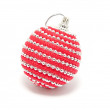 One Christmas decoration — Stock Photo