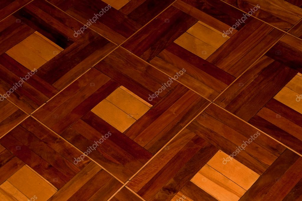 Beautiful wood parquette in the room (texture) — Stock Photo #4731643