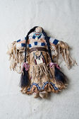 American indian historical culture puppet object — Stock Photo