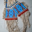 American indian historical museum culture bag — Stock Photo