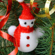 Stock Photo: Christmas tree with Christmas decorations