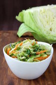 Coleslaw salad — Stock Photo