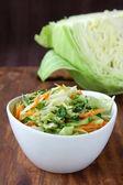 Coleslaw salad — Stock Photo