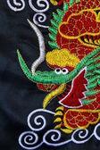 Chiński smok nici do haftu — Zdjęcie stockowe