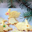Cookies for Christmas and New Year — Stock Photo