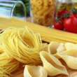 Different varieties of Italipasta — Stock Photo #4418149