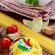 Different varieties of Italipasta — Stock Photo #4445282