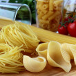 Different varieties of Italipasta — Stock Photo #4450118