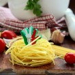 Different varieties of Italipasta — Stock Photo #4476843