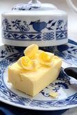 Fresh yellow butter — Stock Photo