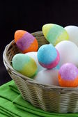 Easter egg decorating — Stock Photo