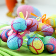 Easter egg decorating - Lizenzfreies Foto
