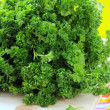 Green, organic parsley - Stock Photo
