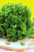 Green, organic parsley — Stock Photo