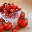 Different varieties of tomatoes — Stock Photo #5284932