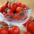 Different varieties of tomatoes — Stock Photo #5307969