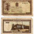 Vintage banknote - Stock Photo