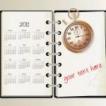 2011 calendar — Stock Vector #5291910