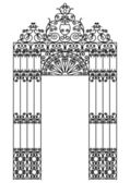 Iron design element — Stock Vector