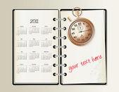 2011 kalender — Stockvector