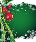 Weihnachten-welt — Stockvektor