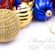 Stock Photo: Christmas decoration objects