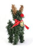 Ren geyiği ağaç noel süs — Stok fotoğraf