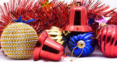 Christmas decoration objects — Stock Photo