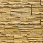 Yellow decorative relief tiles — Stock Photo #5288524