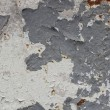 Rusty metal surface with paint layers — Stock Photo