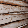 Royalty-Free Stock Photo: Part of wooden house wall