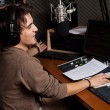 Radio DJ 2 — Stock Photo