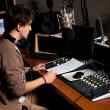 Foto Stock: Radio dj