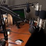 Radio station — Stock Photo